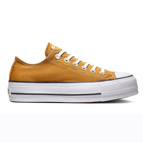 CONVERSE CT ALL STAR PLATAFORMA OCHRE/BLACK