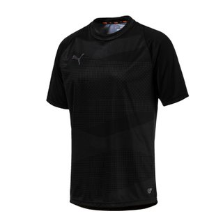 PUMA PUMA FTBLNXT GRAPHIC SHIRT CORE BLACK
