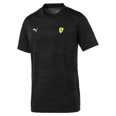 PUMA SF TECH GRAPHIC TEE BLACK