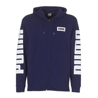 PUMA CAMP REBEL FZ HOODY TR AZUL