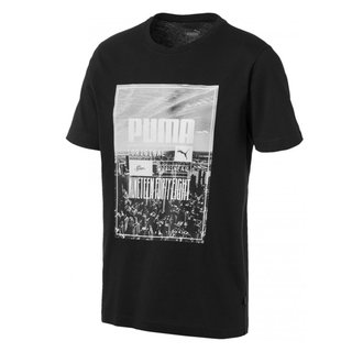 PUMA REMERA PHOTOPRINT SKY NEGRO