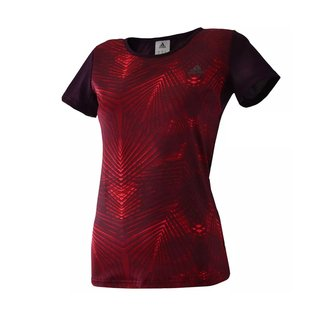 ADIDAS REMERA NG WO LONG BORDEAUX
