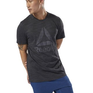 REEBOK REM MC MARBLE GROUP TEE NEGRA