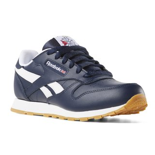 REEBOK CLASSIC LEATHER YOUNG NAVY