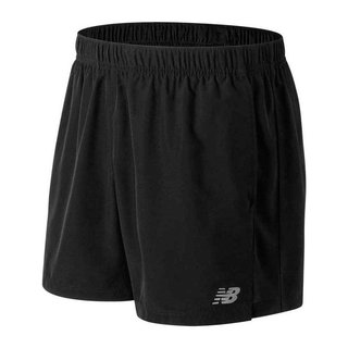 NEW BALANCE ACCELERATE 5INCH SHORT NEGRO