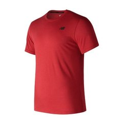 NEW BALANCE REMERA HEATHERTECH ROJA