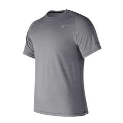 NEW BALANCE REMERA SEASONLESS GRIS