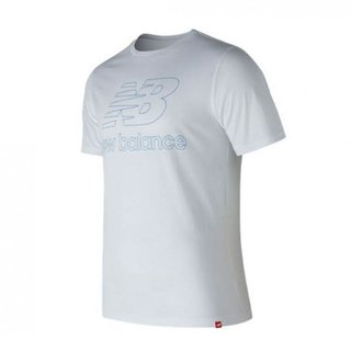 NEW BALANCE REMERA ESS LAND BLANCA