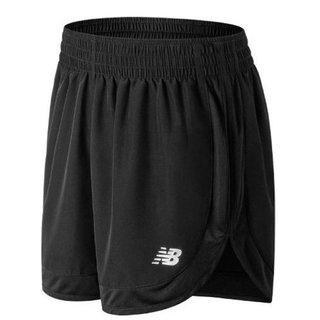 NEW BALANCE ACCELERATE SHORT 5INCH NEGRO