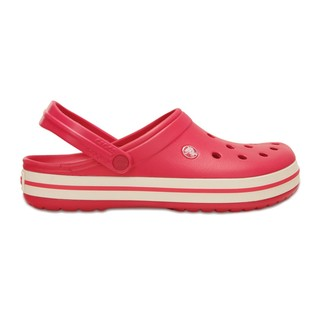 CROCS BAND RASPBERRY/WHITE - comprar online