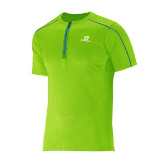 SALOMON REM MC ACTION 1/2 ZIP VERDE - comprar online
