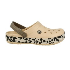 CROCS BAND LEOPARD GOLD/BLACK - comprar online