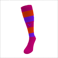 REVES MEDIAS LARGAS STRIPED FUCSIA - comprar online