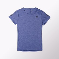 ADIDAS REMERA MC RUN W AZUL - comprar online