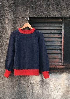 Sweater Compartir Azul