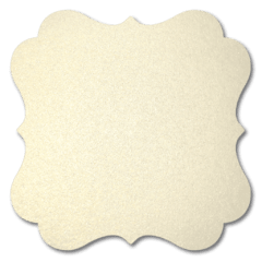 Curious Metallics White Gold 120 gr.A3  (Crema/destello oro