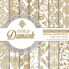 FF - Damask Gold