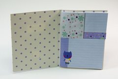 Stick Notes Cuadernito Fantasía / Gatito Violeta en internet