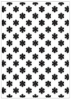 Embossing Folder A4 - Copo de Nieve