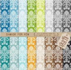 CAC - Paper For Him Damask
