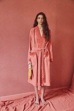 hand-dyed canvas robe nº2
