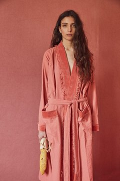 hand-dyed canvas robe nº2 - buy online