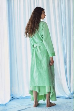 hand-dyed canvas robe nº117 on internet