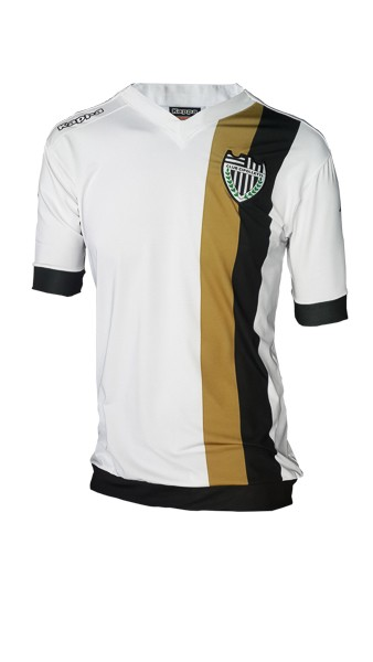Camiseta Fútbol Alternativa Dorada