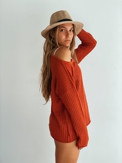 Sweater Fest - Terracota on internet