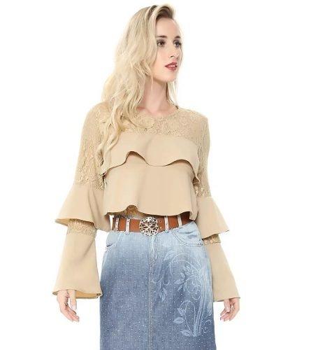 a2f9733cf9 Comprar Blusas Body em Linda Luz Moda Evangélica  Preto
