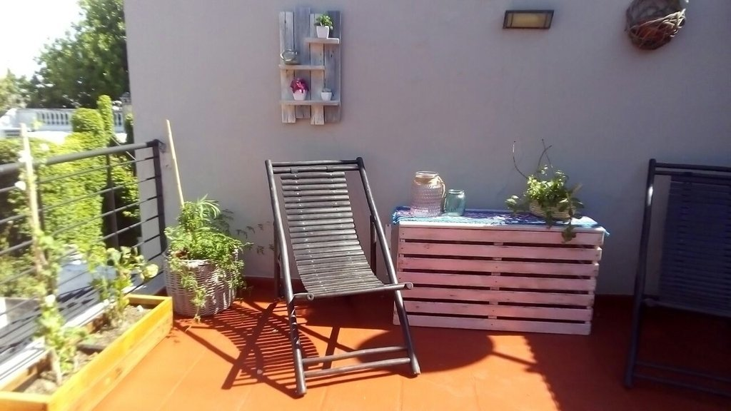 Image of: Mueble Para Cubrir Aire Acondicionado Decopallet