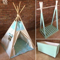 "CARPITA INDIA ""TIPI"" CON VENTANITA - Decopallet"