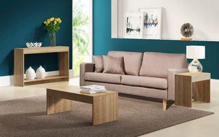 SOFA BOSTON + COMBO DE 3 MESAS DE LIVING