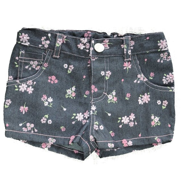 Short Denim Flores