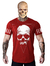 Camiset T-shirt Ferax Skull Red