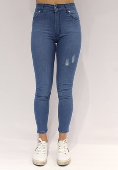 DENIM LEGGING MORGAN - CHECA  Jeans