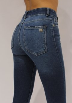 DENIM LEGGING DENVER - CHECA  Jeans