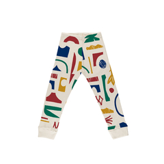Pantalón Abstract Multicolor - comprar online