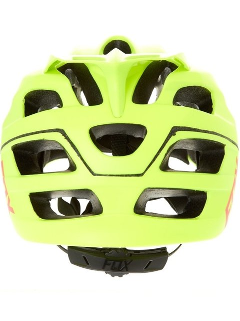 Capacete Tam (S/M) Flux Optik Fluo Amarelo Fox - Bike Time
