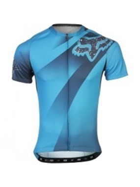 Camisa Fox Bike Livewire Descent 15 (Azul) [L]