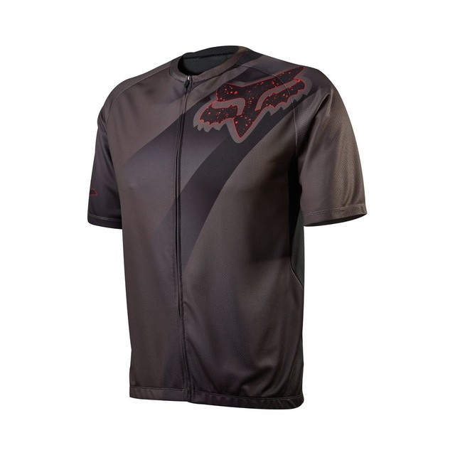 Camisa Tam (M) Bike Livewire Descent 15 Charcoal Fox