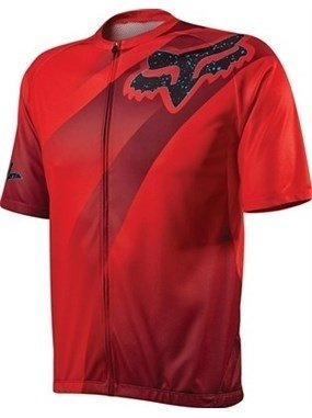 Camisa Fox Bike Livewire Descent 15 (Vermelha) [L]