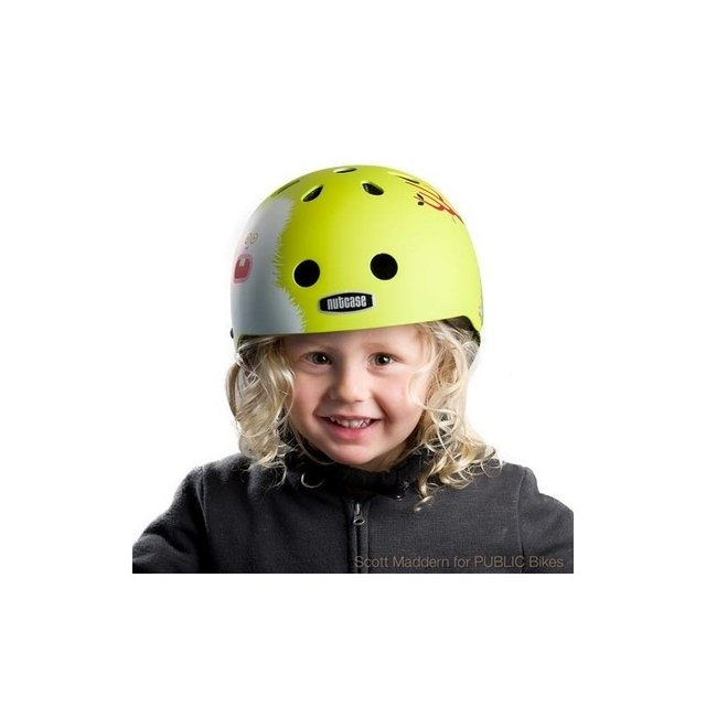 Capacete Infantil Little Nutty Monsters Nutcase - Bike Time