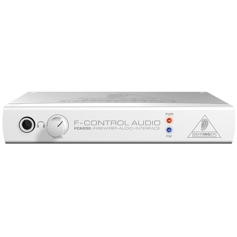 Interface Firewire Behringer F-control Audio Fca 202 - AC0067