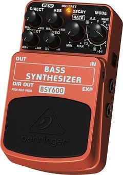 Pedal Behringer BSY600 Bass Synthesizer - PD0684 - comprar online