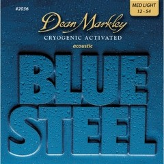 Encordoamento Dean Markley Acoustic Blue Steel 12-54 - EC0193