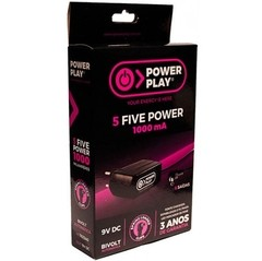 Fonte Power Play FIVE POWER 9VDC - 1000 mA - FT0042 na internet