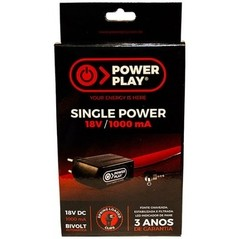 Fonte Power Play SINGLE POWER 18 VDC - 1000 mA - FT0043 - comprar online