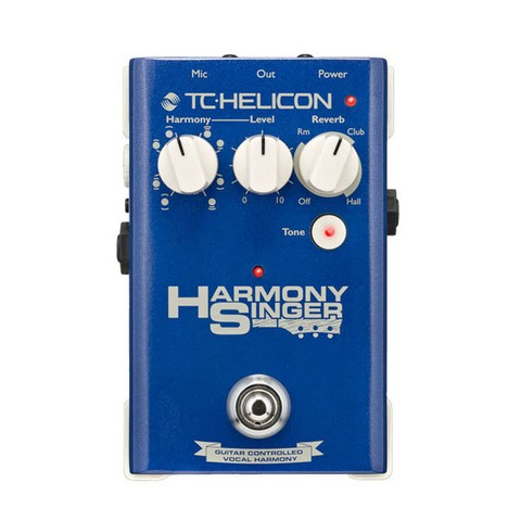 Pedal TC Helicon P/ Voz Harmony Singer  - PD0790
