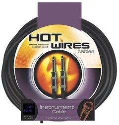 Cabo P/ Instrumento Hot Wires P10-p10 HW IC-15 15FT/4,57 Metros - CB0219